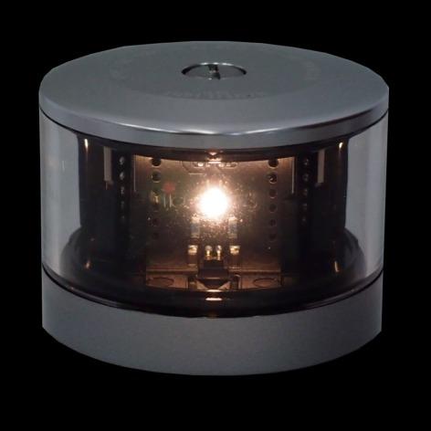 【NAUTILIGHT】LED航海灯 白(アンカー)・前部(マスト)・船尾(スターン)・紅(シグナル)灯