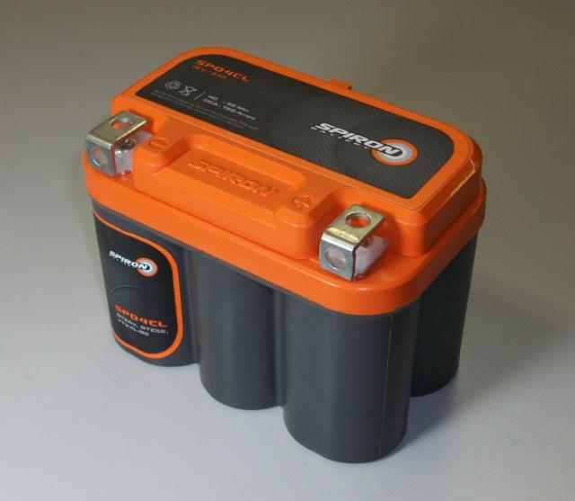 【本物のディープサイクル】SPIRONバッテリー(スパイロンバッテリー)SP05FL