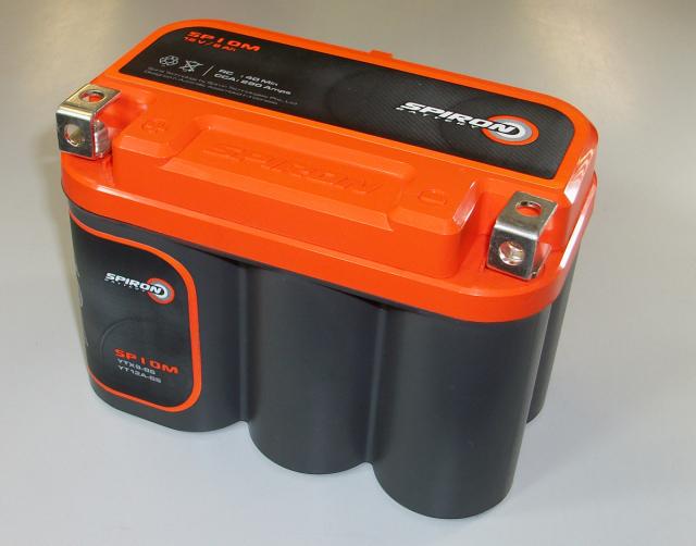 【本物のディープサイクル】SPIRONバッテリー(スパイロンバッテリー)SP10M