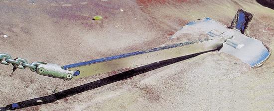 【砂、ヘドロには抜群】ブリタニーアンカー 6kg