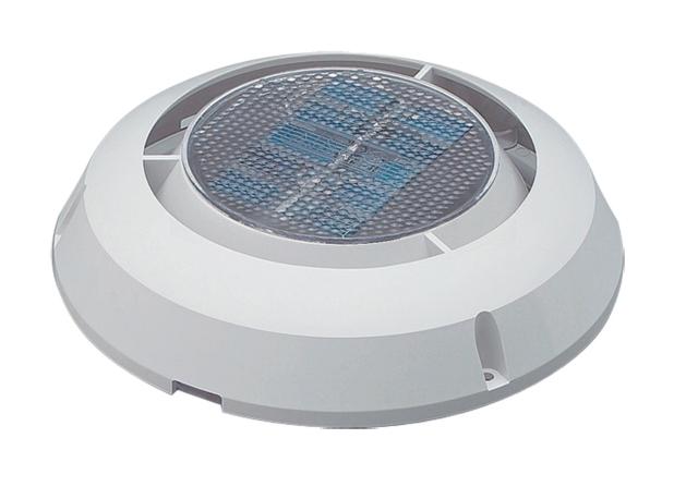 【NICRO】排出専用ソーラーベンチレーター 3インチ PLカバー