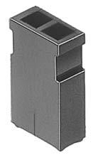 Z-208/コンタクト0.635mm/φ0.64mm用短絡プラグ(高背品)