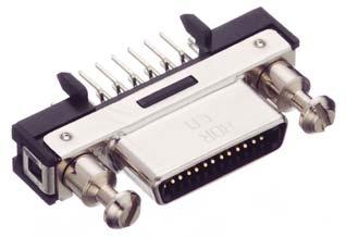 HDR-EC26FDTG2-SL+/基板用ストレート・ディップタイプ雌コネクタ【ROHS】