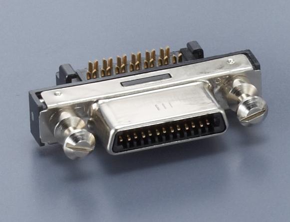 HDR-EC26PFAG1+/パネルマウントケーブル圧接タイプ【ROHS】