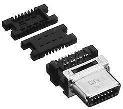 HDR-E26FG1+/ケーブル用圧接タイプ雌コネクタ【ROHS】