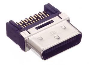 HDR-E26MSG1+/ケーブル用はんだ付けタイプコネクタ【ROHS】