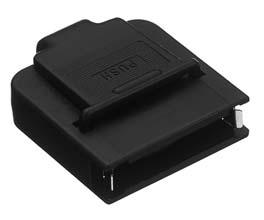 HDRA-E36LPTH/ケーブル用プラスチック縦型ケース ばねロック【ROHS】