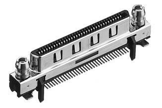HDRA-E68FYT-SLD+/基板用ストレート・SMTタイプ雌コネクタ 【ROHS】