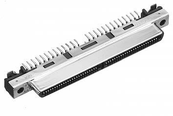 HDRA-EC100FDT-SLD+/基板用ストレート・ディップタイプ雌コネクタ【ROHS】
