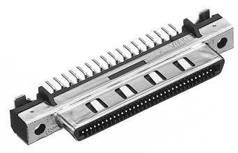 HDRA-EC68FDT-GP+/基板用ストレート・ディップタイプ雌コネクタ【ROHS】