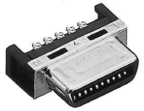 PCR-E68FS+/ケーブル用半田付け雌コネクタ【ROHS】