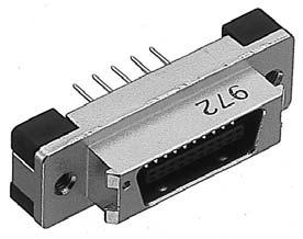PCR-E28MD+/基板用ストレートディップタイプ雄コネクタ【ROHS】