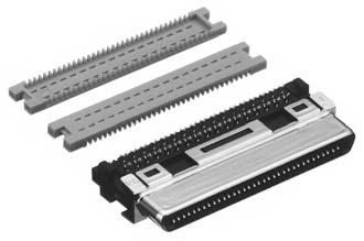 HDRA-E68FAG1+/ケーブル用圧接タイプ雌コネクタ【ROHS】