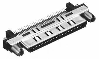 HDRA-E68FT2+/基板用はさみ込み・SMTタイプ雌コネクタ【ROHS】