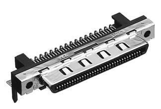 HDRA-E68LFD1T-SL+/基板用ライトアングル・ディップタイプ雌コネクタ【ROHS】