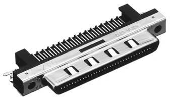 HDRA-E68LFDT-SL+/基板用ライトアングル・ディップタイプ雌コネクタ【ROHS】