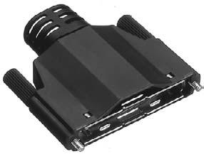 HDRA-E68LGKPF/標準用EMI対策プラスチック縦形ケース【ROHS】