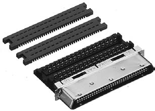 HDRA-E68M1+/ケーブル用圧接タイプ雄コネクタ【ROHS】