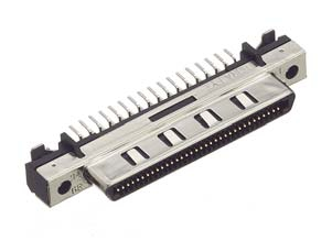 HDRA-EC68FDT+/基板用ストレート・ディップタイプ雌コネクタ【ROHS】