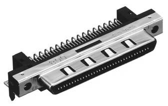 HDRA-EC68LFDTS+/基板用ライトアングル・ディップタイプ雌コネクタ【ROHS】