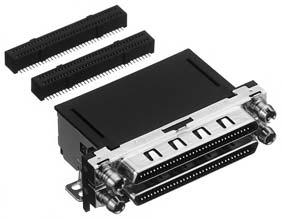 HDRA-ED136LFZGT-L+/基板用ライトアングル・ディップタイプ雌コネクタ(ツーピースタイプ)【ROHS】