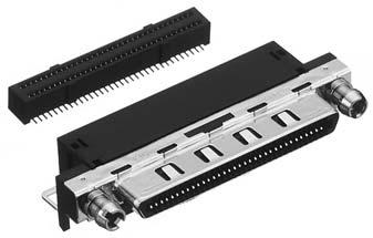HDRA-ED68LFZGT-L+/基板用ライトアングル・ディップタイプ雌コネクタ(ツーピースタイプ)【ROHS】
