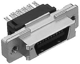 PCR-E20PMRS+/ケーブル用中継用パネル取付け用雄コネクタ【ROHS】