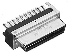 PCR-S50FS+/ケープル用半田付け太線用雌コネクタ【ROHS】