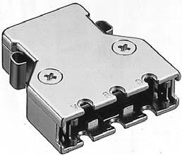 PCS-E50LPA/誤挿入防止形標準ケーブル用ダイカスト縦形ケース【ROHS】