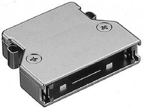 PCS-E68LA/標準ケーブル用EMI対策ダイカスト縦形ケース【ROHS】