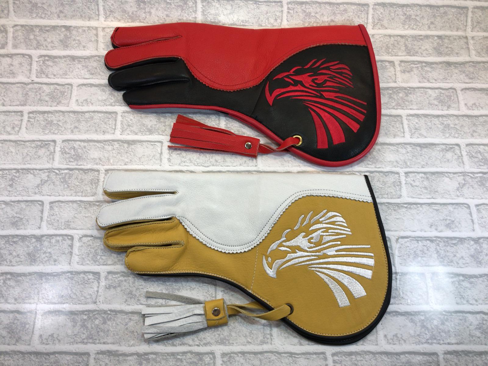 ファルコングローブ イーグル刺繍