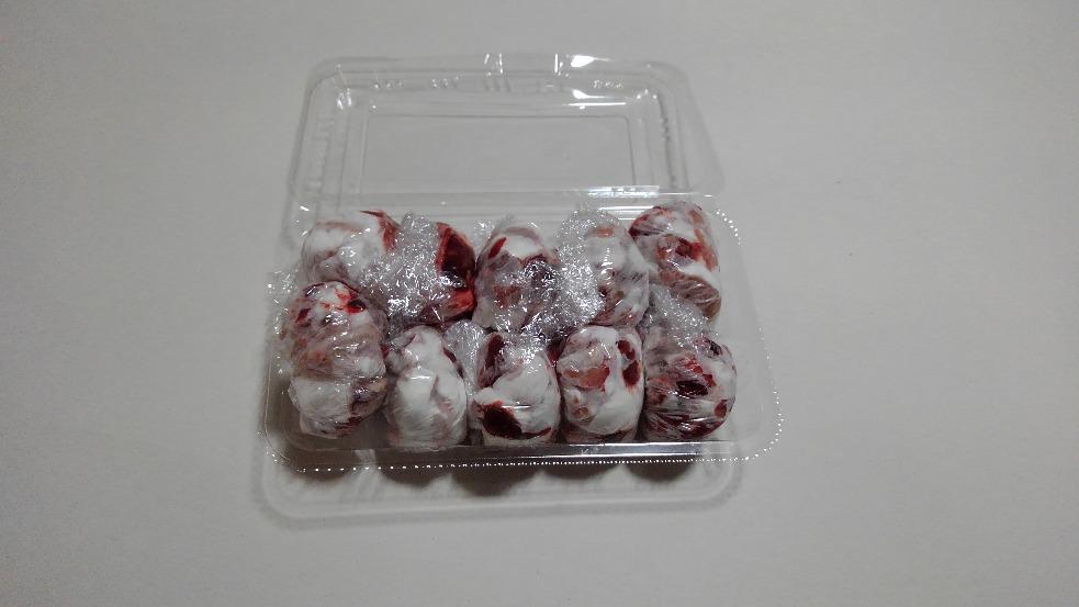 冷凍刻みアダルトマウス 1匹1包み 10匹入り (胃・腸処理済)カットが苦手な方に