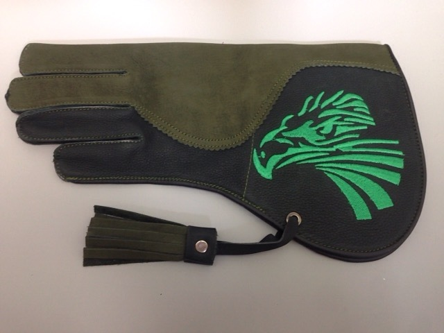 (飼育用品・猛禽) ファルコングローブ Sサイズ イーグル刺繍