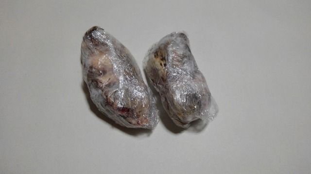 冷凍親ウズラ (内臓、頭、羽、処理済み)