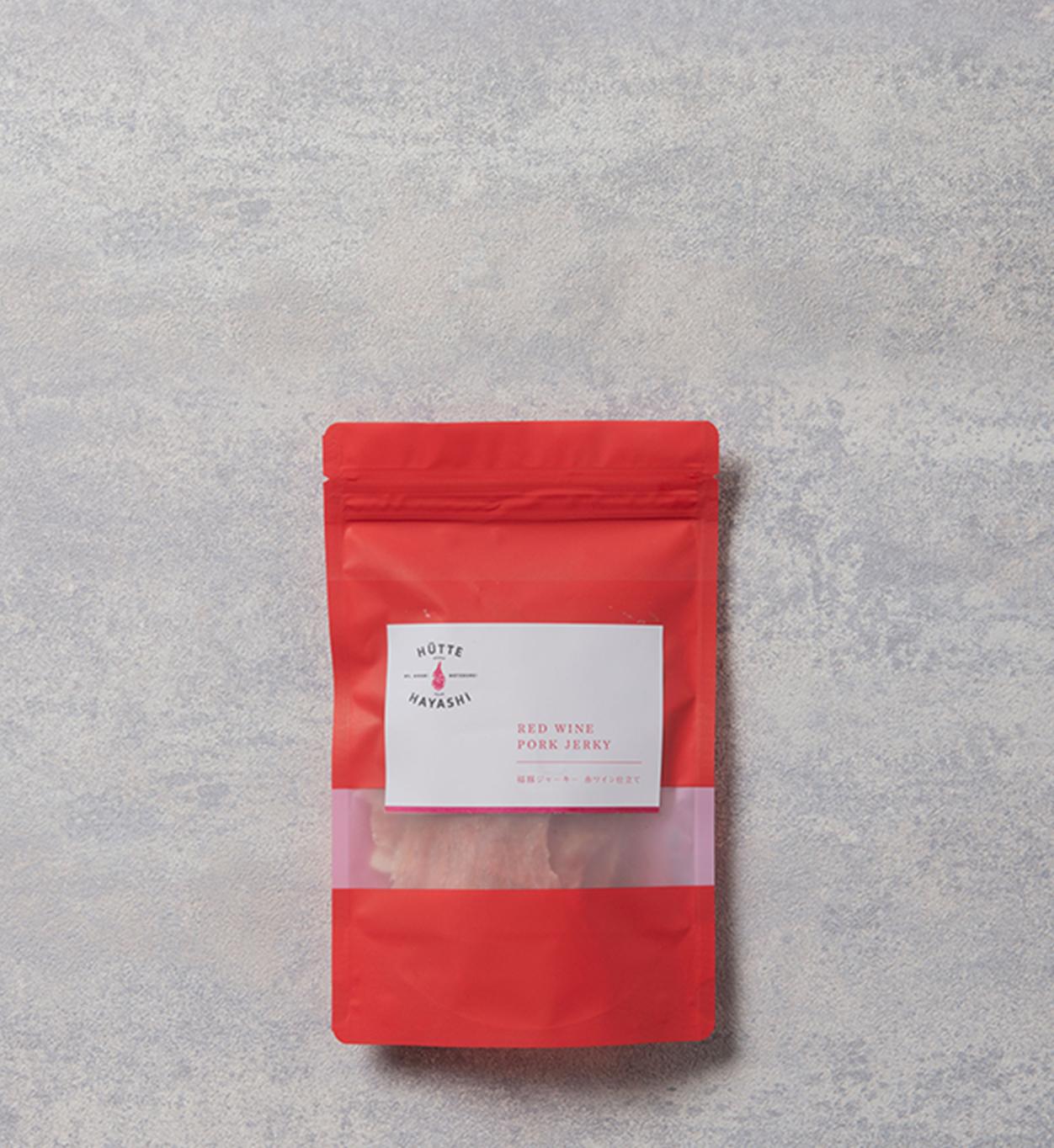 福豚ジャーキー/赤ワイン仕立て