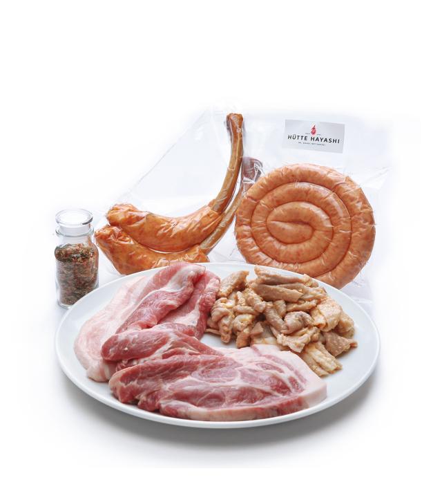 福豚バーベキューセット