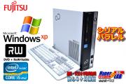 WindowsXP シリアル/パラレル 中古パソコン 富士通 ESPRIMO D751/D クアッドコア Core i5 2400 (3.10GHz) メモリ4G HDD500G マルチ DtoD有