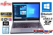 13.3w フルHD 中古ノートパソコン 富士通 LIFEBOOK E736/P 第6世代 Core i5 6300U (2.40GHz) メモリ8G Windows10 Pro マルチ WiFi(ac) Bluetooth