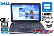 新品SSD Windows10 中古ノートパソコン DELL Latitude E5530 Core i5 3320M (2.60GHz) メモリ4G マルチ Wi-Fi HDMI USB3.0 Bluetooth