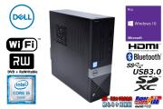 HDMI Wi-Fi 中古パソコン DELL Vostro 3250 Core i5 6400 メモリ8GB HDD1000GB マルチ SDXC Bluetooth Windows10