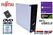 新品SSD512G 中古パソコン 富士通 ESPRIMO D956/M Core i7 6700 メモリ8G GeForceGTX Windows10 USB3.0