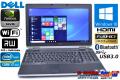 Windows10 64bit フルHD ノートパソコン DELL Latitude E6530 Core i7-3720QM(2.60GHz) メモリ4G マルチ WiFi USB3.0 Bluetooth NVIDIA