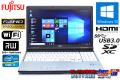 フルHD Core i7 3520M 中古ノートパソコン 富士通 LIFEBOOK E742/E (2.90GHz) メモリ4G マルチ WiFi USB3.0 Windows10 64bit