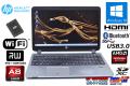 中古ノートパソコン HP ProBook 455 G2 AMD A8-7100 Radeon R5 メモリ8G 新品SSD256G Wi-Fi マルチ Windows10