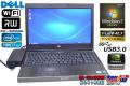 訳あり Windows7 Ultimate 中古パソコン デル Presicion M4600 Core i7 2760QM(2.40GHz) メモリ8G マルチ WiFi Quadro搭載 モバイルワークステーション アウトレット