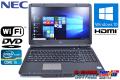 Windows10 64bit 中古ノートパソコン NEC VersaPro VK25T/X-F Corei5 3210M(2.5GHz) メモリ4G WiFi マルチ HD+液晶