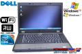 希少 WindowsXP 中古ノートパソコン DELL Latitude E5510 Core i5 520M(2.40GHz) メモリ3G マルチ WiFi 15.6型液晶