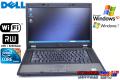 WindowsXP 中古ノートパソコン DELL Latitude E5510 Core i5 520M(2.40GHz) メモリ2G マルチ WiFi 15.6型液晶