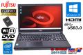 フルHD 富士通 中古ノートパソコン LIFEBOOK A574/K Core i5 4310M メモリ8GB SSD256G Wi-Fi HDMI Windows10