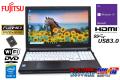 中古ノートパソコン フルHD 富士通 LIFEBOOK A574/M Core i5 4310M メモリ8G SSD256G Wi-Fi HDMI Windows10